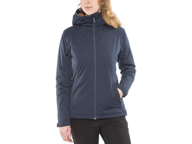 size 40 d5f07 80186 Mammut Chamuera SO Thermo Hooded Jacket Damen marine